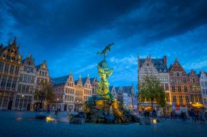 Europa, Belgien, Antwerpen, Stadt, Altstadt, Markt, Grote Markt