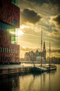 Europa, Belgien, Antwerpen, Stadt, Museum, Museum am Strom, Eilandje, Lotsenhaus
