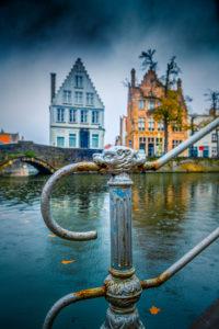 Europa, Belgien, Brügge, Stadt, Altstadt, Kanal, Langerei