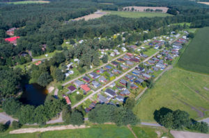 Campsite to the Örtzewinkel from the air