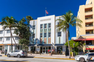 Cavalier Hotel, Ocean Drive, Art Deco District, South Beach, Miami Beach, Miami-Dade County, Florida, United States, North America