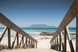Access to the beach, Capetown, South Africa