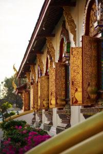Wat Chiang Man in Chiang May
