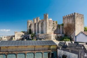 Europa, Portugal, Estremadura, Region Centro, Obidos, Vila das Rainhas, Stadt der Königinnen, Burggelände, Castelo de Obidos