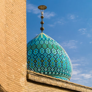 Kuppel einer Moschee in Shiraz