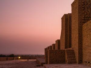 Elamitischer Stufentempel in Chogha Zanbil