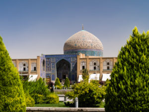 Sheikh Lotfollah Mosque in Isfahan