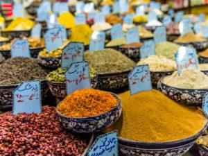 Wakil Bazar in Shiraz, Gewürze