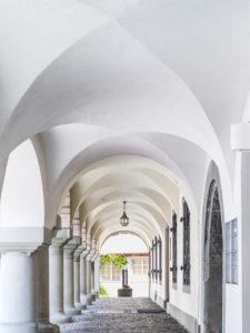 Arkaden in der Altstadt von Wil, St. Gallen