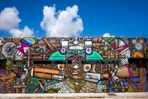 Wynwood Graffiti, Miami, Florida, USA