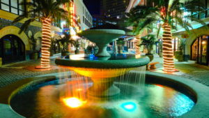 Cocowalk Shopping Mall. Coconut Grove. Florida. USA.
