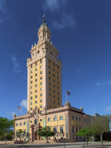 The Freedom Tower. Biscayne Boulevard. Miami. Florida. USA