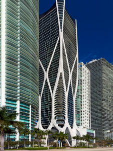 Biscayne Boulevard Buildings. Miami. Florida. USA