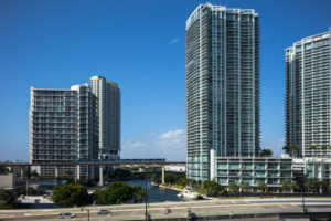 Miami River Housing Developments. Florida. USA.