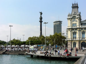 The Port in Barcelona. Spain