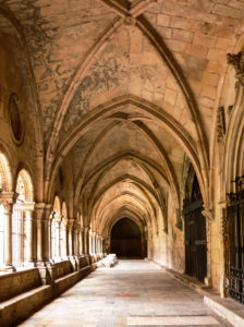 The Cloister in the Cathedral of Tarragona, Spain