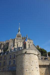 Aussenansicht von Mont Saint Michel