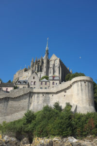 Exterior view of Mont Saint Michel