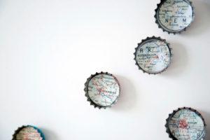 DIY, Kühlschrankmagneten aus Kronkorken