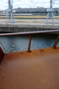 im Hamburger Baakenhafen