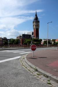 Frankreich Rathaus von Calais