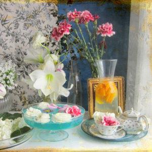 still life, blossoms, Amaryllis,