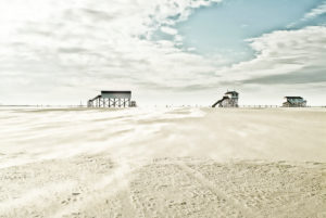 Germany, Schleswig - Holstein, St. Peter-Ording (municipality), beach,