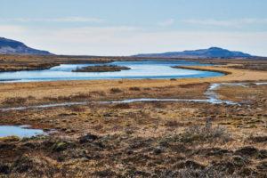 Iceland, Golden Circle, Thingvellir National Park, southwest