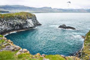 west Iceland, Arnarstapi, peninsula snaefellsnes, rock formations