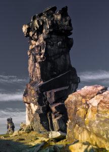 Europa, Deutschland, Sachsen-Anhalt, Naturpark Harz, die Teufelsmauer bei Neinstedt