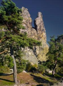 Europa, Deutschland, Sachsen-Anhalt, Naturpark Harz, die Teufelsmauer bei Timmenrode