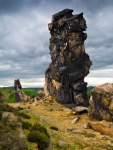 Europe, Germany, Saxony-Anhalt, Thale, rock formation 'Teufelsmauer'