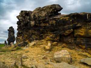 Europe, Germany, Saxony-Anhalt, Thale, rock formation 'Teufelsmauer'