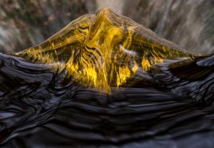 Europa, Deutschland, Niedersachsen, Torfhaus, Nationalpark Harz, Wasserspiegelung, Fichten am Oderteich