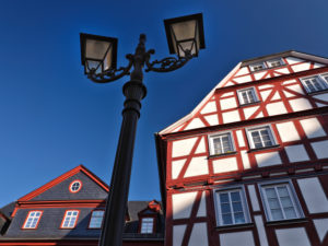 Europa, Deutschland, Hessen, Lahn-Dill-Kreis, Lahn-Dill-Bergland, Wetzlar, Altstadt am Kornmarkt