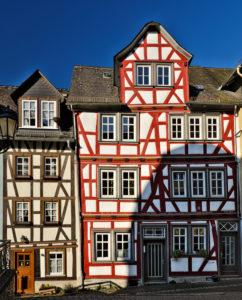 Europa, Deutschland, Hessen, Lahn-Dill-Kreis, Lahn-Dill-Bergland, Wetzlar, Fachwerkhäuser in der Rosengasse