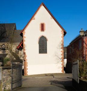 Europe, Germany, Hesse, Lahn-Dill-Kreis, Lahn-Dill-Bergland, Wetzlar, Michaelskapelle in Goethestrasse, former ossuary