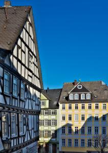 Europa, Deutschland, Hessen, Lahn-Dill-Kreis, Lahn-Dill-Bergland, Wetzlar, Altstadt am Fischmarkt