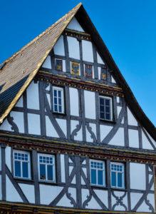 Europa, Deutschland, Hessen, Lahn-Dill-Kreis, Lahn-Dill-Bergland, Wetzlar, Altstadt am Eisenmarkt