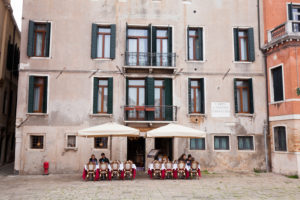 House on Campo Sant Anzolo with restaurant in Venice