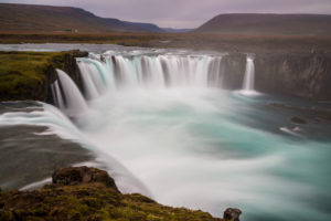 Iceland, Godafoss, God's waterfall, waterfall