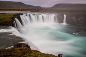 Island, Godafoss, Götterwasserfall, Wasserfall