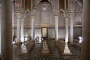Saadier tombs, Marrakech, Morocco