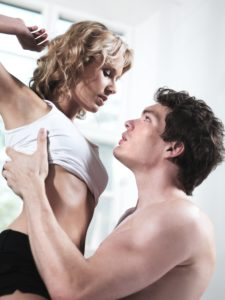 Loving couple, bed, couple, erotic, man, woman, love, feelings, bedroom, sex, touch, tenderness, lust, desire, undress, erotic, allure, seduction, close, intimacy, desire, surrender, passion, sensuality, enjoying, Caress, affair, partnership, relationship, inside, Mau_Set,