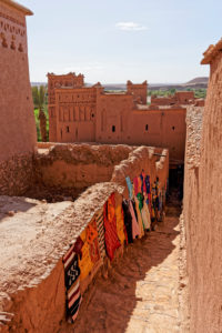 Ait Benhaddou, crafts, creative, Morocco, carpets, colour, commerce, architecture, tradtiional