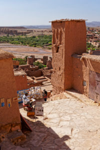 Ait Benhaddou, crafts, Morocco, commerce, architecture