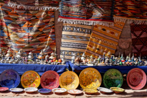 Ait Benhaddou, crafts, creative, Morocco, pottery, carpets, traditional, culture, colour, commerce