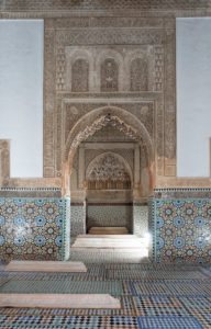 architecture, ceramic tiles, creative, decorative alabaster, Marrakech, Morocco, Saadian Tombs, Islamic, Arabic, religion, design, archaeology