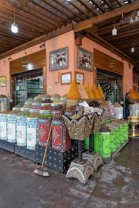 bio / organic foods, food shop, Marrakech, Morocco, the Medina