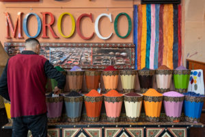 colours, creative, food shop, Marrakech, Morocco, spices, the Medina, health, diet, flavour